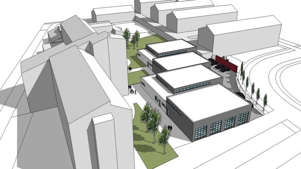 Neubau einer KFZ-Lehrwerkstatt für die Handwerkskammer Hildesheim-Südniedersachsen