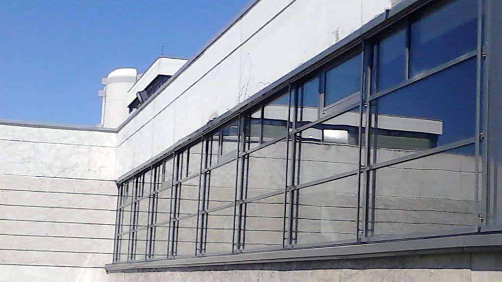 Universität Hildesheim - Fassadenmodernisierung Sport- und Schwimmhalle